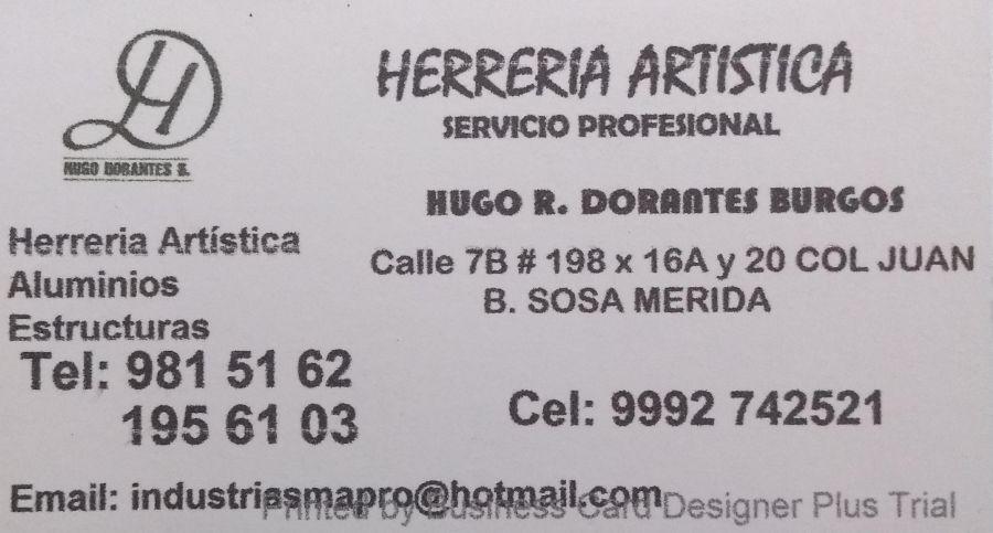 Herreria Aluminios, Estructuras, Aluminiero. Herreria Artistica Merida, Yucatan
