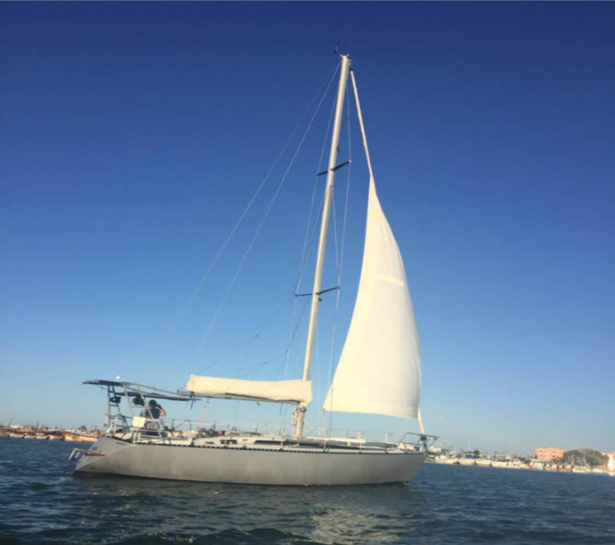 Velero en Venta Jouet Yachting 37. Sailboat on Sale. Merida, Progreso, Yucatan
